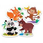 Trefl-36056 My First Puzzles: Tiere des Waldes