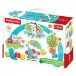 Trefl-36058 4 Puzzles - Baby Classic