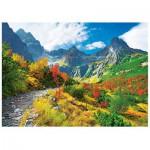 Puzzle  Trefl-37190 Herbst in den Tatras