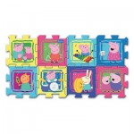 Trefl-60398 Schaumstoffpuzzle - Peppa Pig