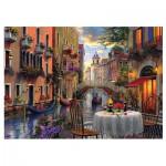 Puzzle  Trefl-65003 Dominic Davison: Romantisches Venedig