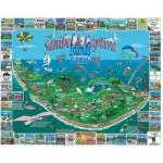 Puzzle  White-Mountain-1042 Sanibel & Captiva Islands