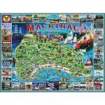 Puzzle  White-Mountain-468 Mackinac Island
