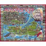 Puzzle  White-Mountain-533 Nantucket