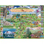 Puzzle  White-Mountain-921 Oregon