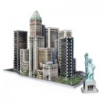 Wrebbit-3D-2013 3D Puzzle - New York Collection: Financial