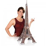 Wrebbit-3D-34509 3D Puzzle - Paris: Eiffelturm