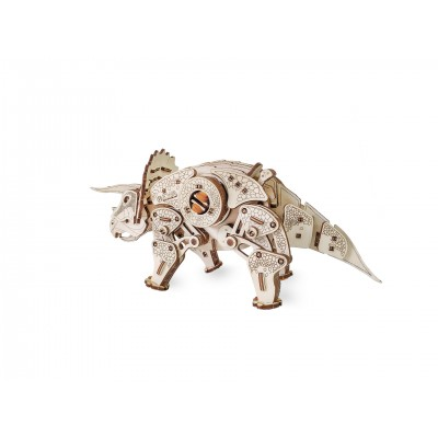 Eco-Wood-Art-57 3D Holzpuzzle - Triceratops