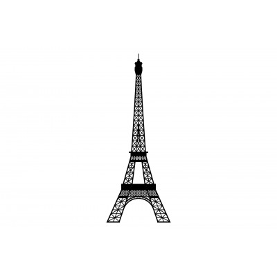 Eco-Wood-Art-79 Wooden Puzzle - The Tower