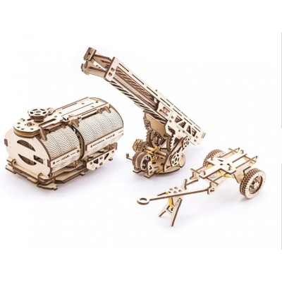 Ugears-12028 3D Holzpuzzle - Set of Additions to the Truck UGM-11