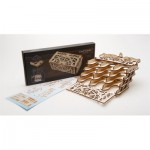 Ugears-12090 3D Holzpuzzle - Card Holder