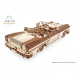 Ugears-12096 3D Holzpuzzle - Dream Cabriolet VM-05