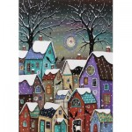 Puzzle  Art-Puzzle-4274 Winter Season