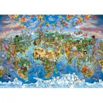 Puzzle  Art-Puzzle-4278 Colours from the World