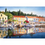 Puzzle  Art-Puzzle-4412 Greece: Fiscardo