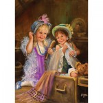 Puzzle  Art-Puzzle-4461 Beauties in the Attic