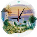 Art-Puzzle-5005 Puzzle-Uhr - In the Evening in Aegean