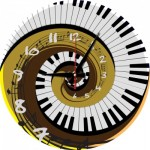 Art-Puzzle-5006 Puzzle-Uhr - Rhythm of Time