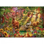 Puzzle  Art-Puzzle-5176 Enchanted Forest