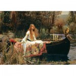 Puzzle  Art-Puzzle-5478 John William Waterhouse - The Lady of Shalott, 1888
