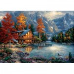 Puzzle  Art-Puzzle-5523 Chuck Pinson - Fall Reflection