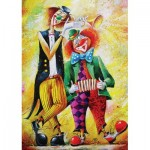 Puzzle   Clowns Musiker