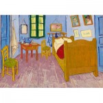 Puzzle  Art-by-Bluebird-Puzzle-60004 Vincent Van Gogh - Bedroom in Arles, 1888