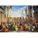 Puzzle  Art-by-Bluebird-Puzzle-60011 Paolo Veronese - The Wedding at Cana, 1563