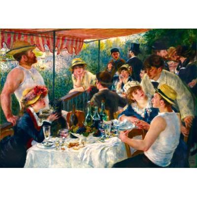 Puzzle Art-by-Bluebird-Puzzle-60048 Renoir - Luncheon of the Boating Party, 1881
