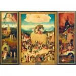 Puzzle  Art-by-Bluebird-Puzzle-60060 Bosch - The Haywain Triptych