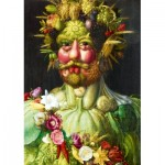 Puzzle  Art-by-Bluebird-Puzzle-60074 Arcimboldo - Rudolf II of Habsburg as Vertumnus, 1590