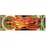 Puzzle  Art-by-Bluebird-Puzzle-60094 Mucha  - Moët & Chandon-Grand Crémant Impérial, 1899