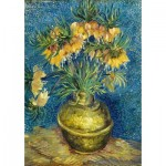 Puzzle  Art-by-Bluebird-Puzzle-60114 Vincent Van Gogh - Imperial Fritillaries in a Copper Vase, 1887
