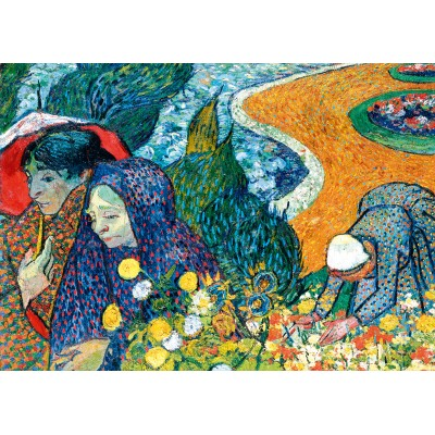 Puzzle Art-by-Bluebird-Puzzle-60135 Vincent Van Gogh - Memory of the Garden at Etten (Ladies of Arles), 1888