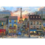 Puzzle  Bluebird-Puzzle-70111 Streets of Paris
