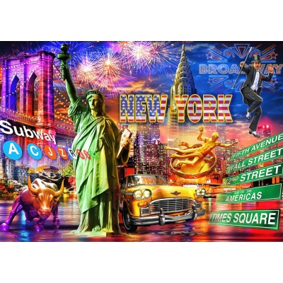 Puzzle Bluebird-Puzzle-70149 New York
