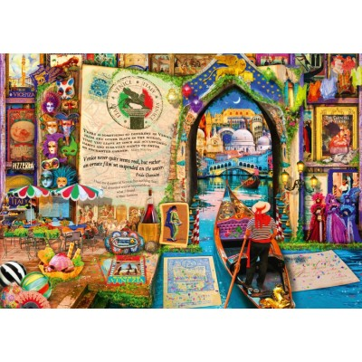 Puzzle Bluebird-Puzzle-70242-P Life is an Open Book Venice