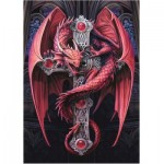Puzzle   Anne Stokes - Gothic Guardian