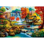 Puzzle   Country House by the Water Fall