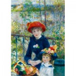 Puzzle   Renoir - Two Sisters (On the Terrace), 1881