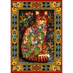 Puzzle   Tapestry Cat