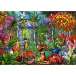 Puzzle   Tropical Green House