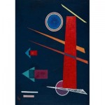 Puzzle   Vassily Kandinsky - Powerful Red, 1928