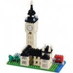 Brixies-58211 Nano 3D Puzzle - Big Ben (Level 3)