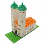Nano 3D Puzzle - Frauenkirche (Level 3)