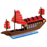 Nano 3D Puzzle - Großes Drachenboot Advance (Level 5)