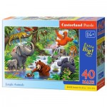 Puzzle  Castorland-040315 XXL Teile - Jungle Animals