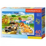Puzzle  Castorland-040322 Safari Adventure
