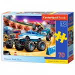 Puzzle  Castorland-070077 Monster Truck Show