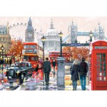 Puzzle  Castorland-103140 London Collage